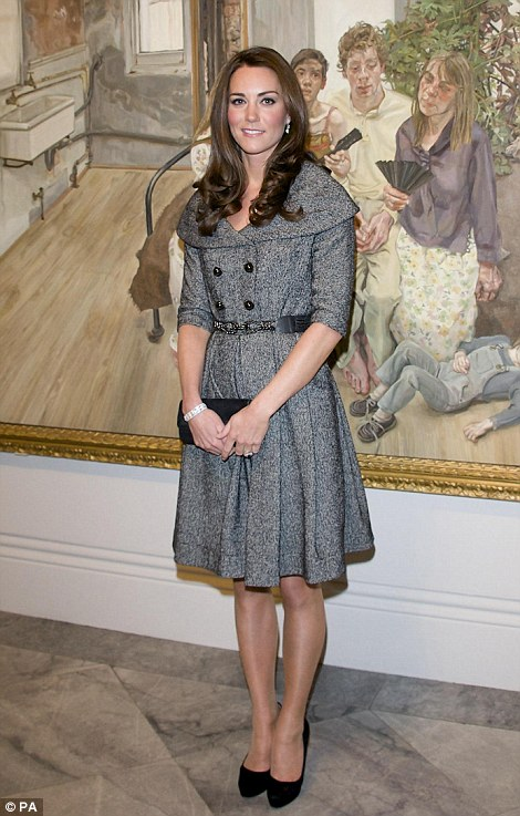 Kate goes solo: William is posted to the Falklands leaving Kate to attend multiple social functions alone during February - and the Duchess takes them on with poise