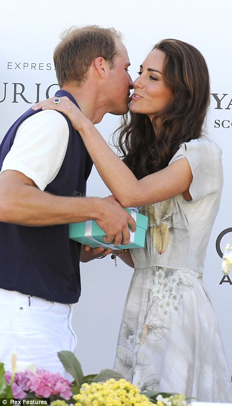 The Duke and Duchess of Cambridge at Santa Barbara Polo Club in California