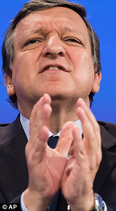 Please sir, I want some more: The EU Commission, led by president Jose Barroso, is demanding an inflation-busting 7 per cent budget increase