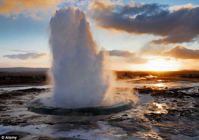 The Strokkur geyser