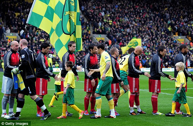 Just like policemen: Norwich players are not getting younger... it just seems that way.