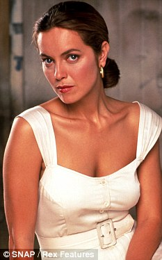 Relief: Actress Greta Scacchi says it is a relief to lose her status as a pin-up