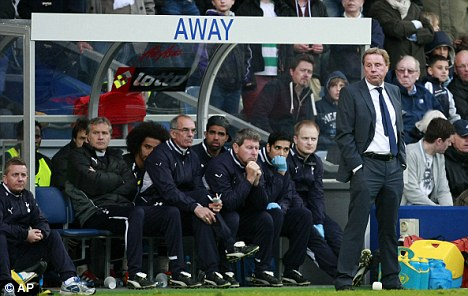 England bound? Harry Redknapp remains the favorite for the England job