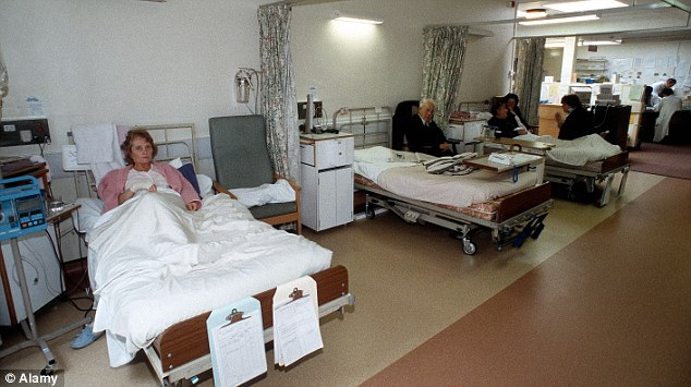 Concerns: The college is also recommending that hospitals cancel routine surgery to help clear beds and take the pressure off casualty units (file photo)