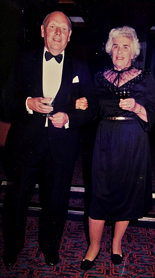 In happier times: Doris with her husband Don in 1987