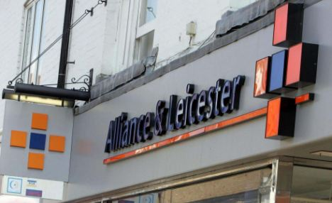 UK hit: Santander took over Alliance & Leicester which made bad loans to struggling companies before the financial crisis