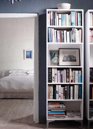 On a budget? Use multiples of a basic design, such as the Hemnes unit from Ikea, tel: 0845 355 1141, ikea.com