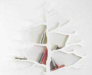TREE BOOKSHELF, £1,750, including shipping, Shawn Soh, designartist.co.kr