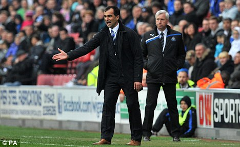 Will he stay or will he go? Roberto Martinez could yet leave Wigan