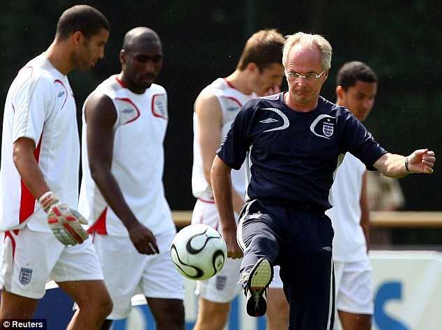 Support: Ex-England boss Eriksson believes Hodgson can be a success