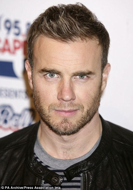 Royal seal of approval: Gary Barlow is to sing at the gala dinner attended by Kate and Wills next Friday, and has been heavily involved with the Jubilee preparations