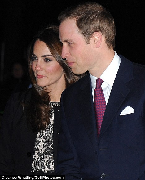 The Duchess and Duke Cambridge are to be the guests of honour at a gala dinner at the Albert Hall