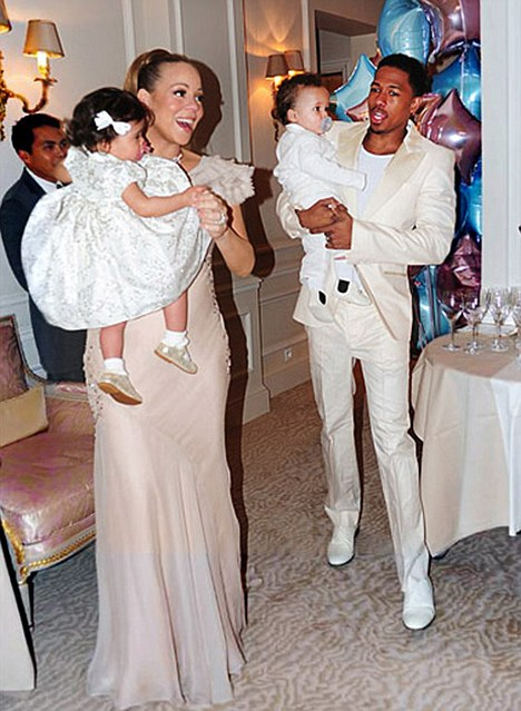 Only the best! Mariah Carey and Nick Cannon celebrated twins Monroe and Moroccan's first birthday in a luxury Paris hotel