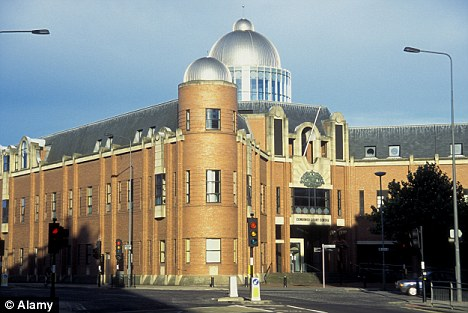 Pearson was given a 12-month suspended sentence at Hull Crown Court, pictured, for the sexual assault carried out during the recording