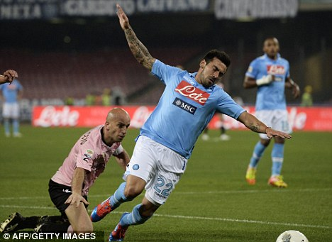 Wanted: Ezequiel Lavezzi is being tracked by several top clubs