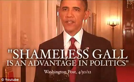 Attack: A new anti-Obama ad is criticizing the president's claim of credit for killing al Qaeda leader Osama bin Laden in 2011