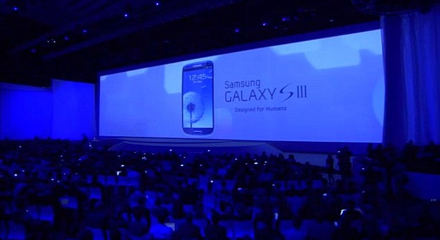 Hundreds of people packed into the auditorium to see the launch of the phone