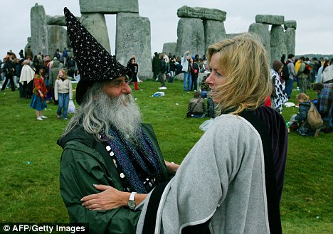 Religion: A 16-year-old boy has admitted religiously harassing a Pagan in Essex.  Pagans, such as these at Stonehenge, worship a variety of deities
