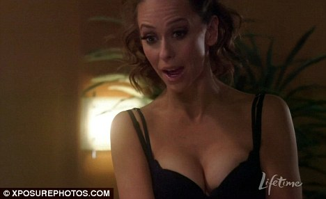 Racy role: Jennifer is currently starring in The Client List on Lifetime