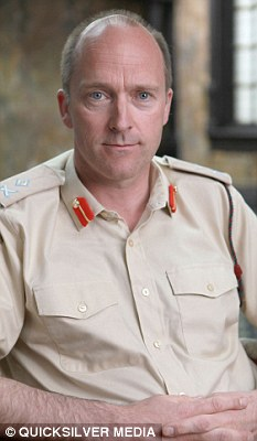 'Vulnerabilities': The British military's head of cyber security Major General Jonathan Shaw (above) says the Ministry of Defence has been attacked by hackers