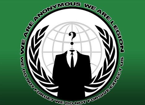 Breached: Last month, the Home Office website went down after an apparent cyber attack by hacking group Anonymous (above)