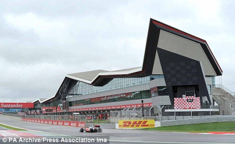Home: Silverstone will host the British Grand Prix this summer