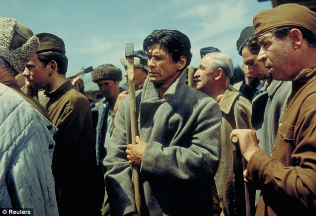 Historical: Charles Bronson, centre, as Lieutenant Danny The Tunnel King Velinski in The Great Escape