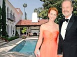 Through the keyhole: Kelsey Grammer and new wife Kayte snap up $6.5m Beverly Hills mansion