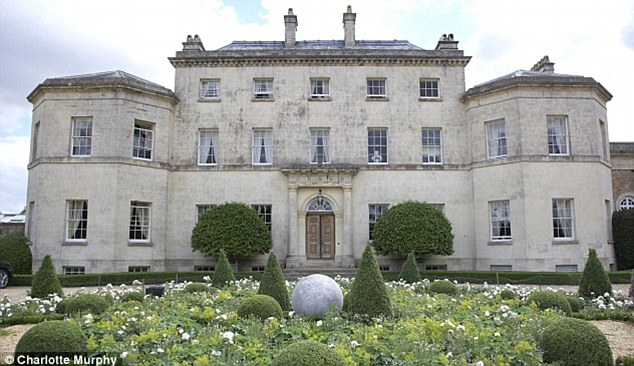 Beauty: Pusey House, formerly owned by Cadbury heiress Felicity Loudon, has sold after two years on the market