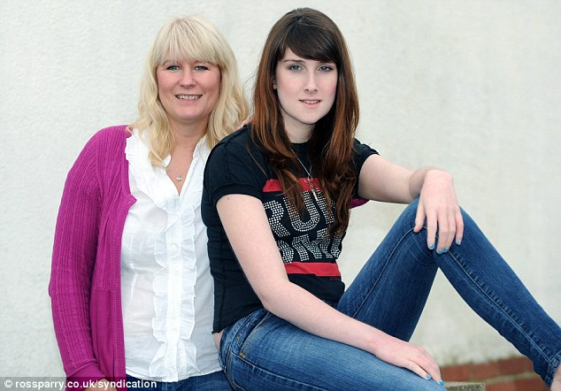 Jackie Green formerly Jack who had a sex change for her sixteenth birthday with proud mum Susie