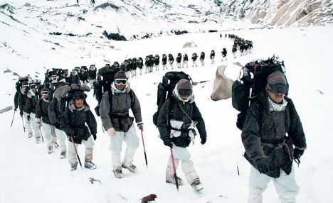 Those who advocate withdrawal from Siachen need to clarify whether we are occupying Pakistani territory