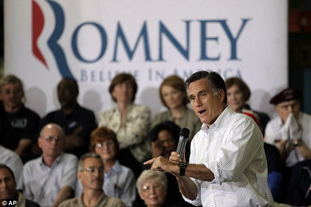 Republican presidential candidate, former Massachusetts Gov. Mitt Romney speaks at a town hall-style meeting in Euclid, Ohio, Monday, May 7
