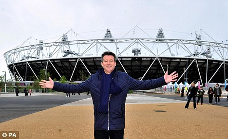The man who made it happen: Lord Coe is a popular choice to light the flame