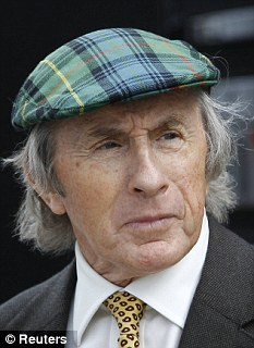 Promise: Sir Jackie Stewart has earmarked his fellow Scot for a bright future