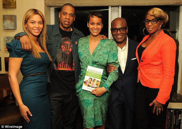 Picking up some tips? Beyoncé and Jay-Z last night attended the launch of Erica Reid's book The Thriving Child