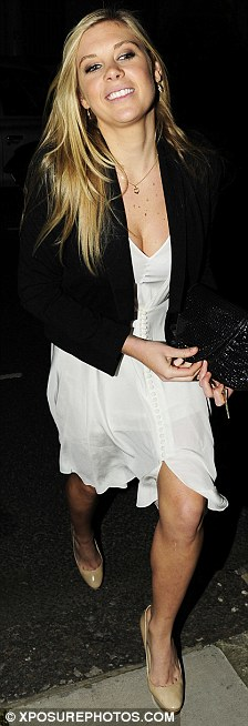 Chelsy Davy leaving The Beulah club in London.