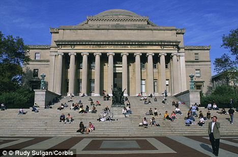 Prestigious: Columbia University, one of the original Ivy league colleges, is ranked as the fourth best school in the country behind Harvard, Princeton and Yale