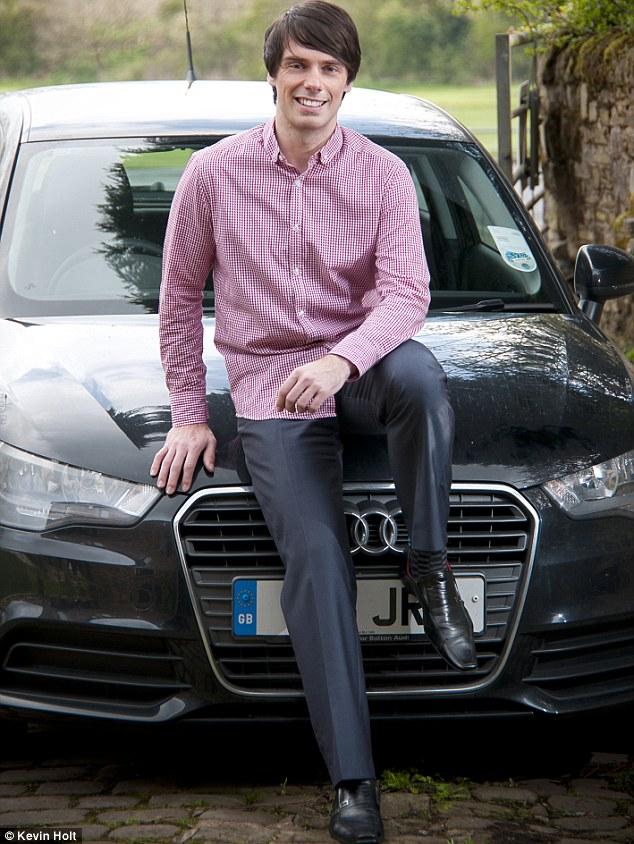 James Edgington: 'I'm not arrogant but I've got handsome genes'