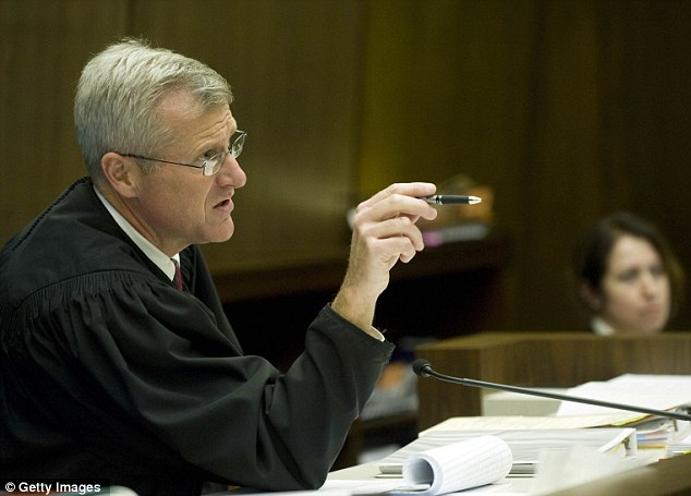 Moving forward: Judge Walter Schwarm explains why he believes two Fullerton police officers should remain charged with the death of a mentally ill homeless man last summer
