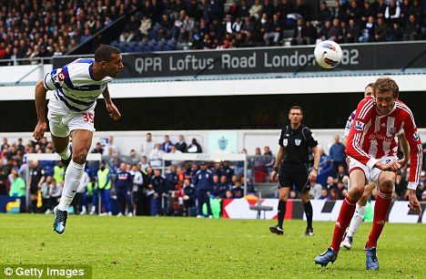 All to play for: QPR head to Man City on Sunday looking to secure their top-flight status
