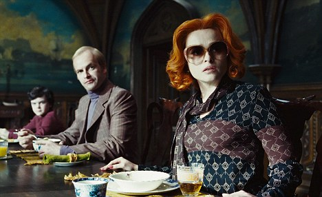 Co-stars: Tim Burton's long-term partner, actress Helena Bonham Carter, and Johnny Lee Miller both appear in the film