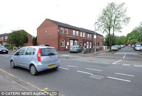 The junction in the Small Heath area of Birmingham where the baby boy suffered fatal head injuries