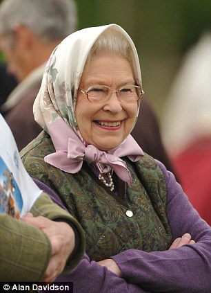 Happy days! The Queen watches as her horse Balmoral Erica wins the  Highland Championship in the Copper Ring