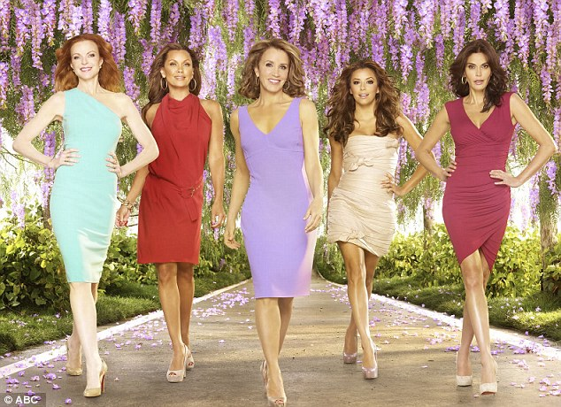 Show's over: Fans of the hit ABC show will say goodbye to the ladies of Wisteria Lane for good on Sunday