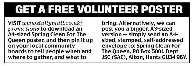 Get a free volunteer poster