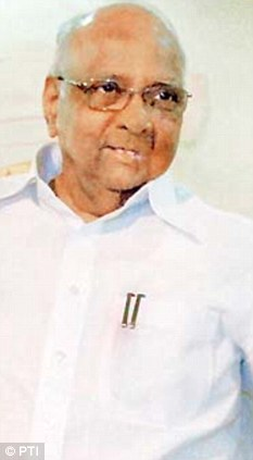 Union Minister and NCP chief Sharad Pawar