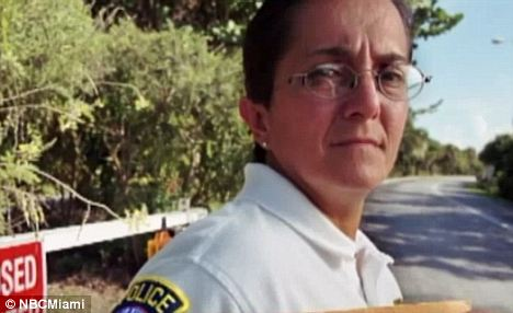 Line of Duty: Key Biscayne Police Officer Nelia Real, in charge of the traffic unit, was shot in the neck by Ewing