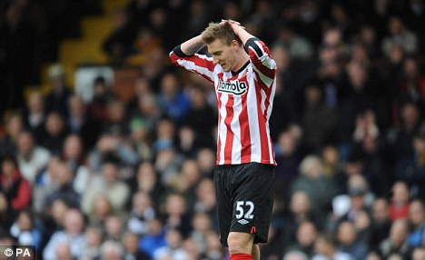End of the road: Nicklas Bendtner career in England looks like it will end this summer