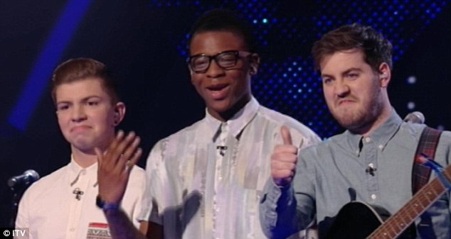 Sound like they've already made it: London 'lad band' Loveable Rogues performed their own song Honest