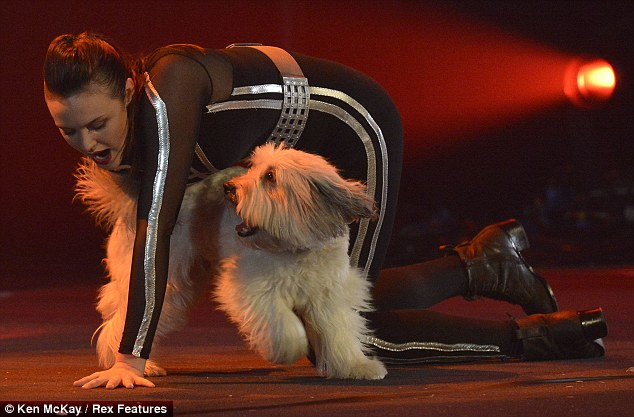 Special bond: Simon Cowell described the pair as one of his favourite ever acts on Britain's Got Talent